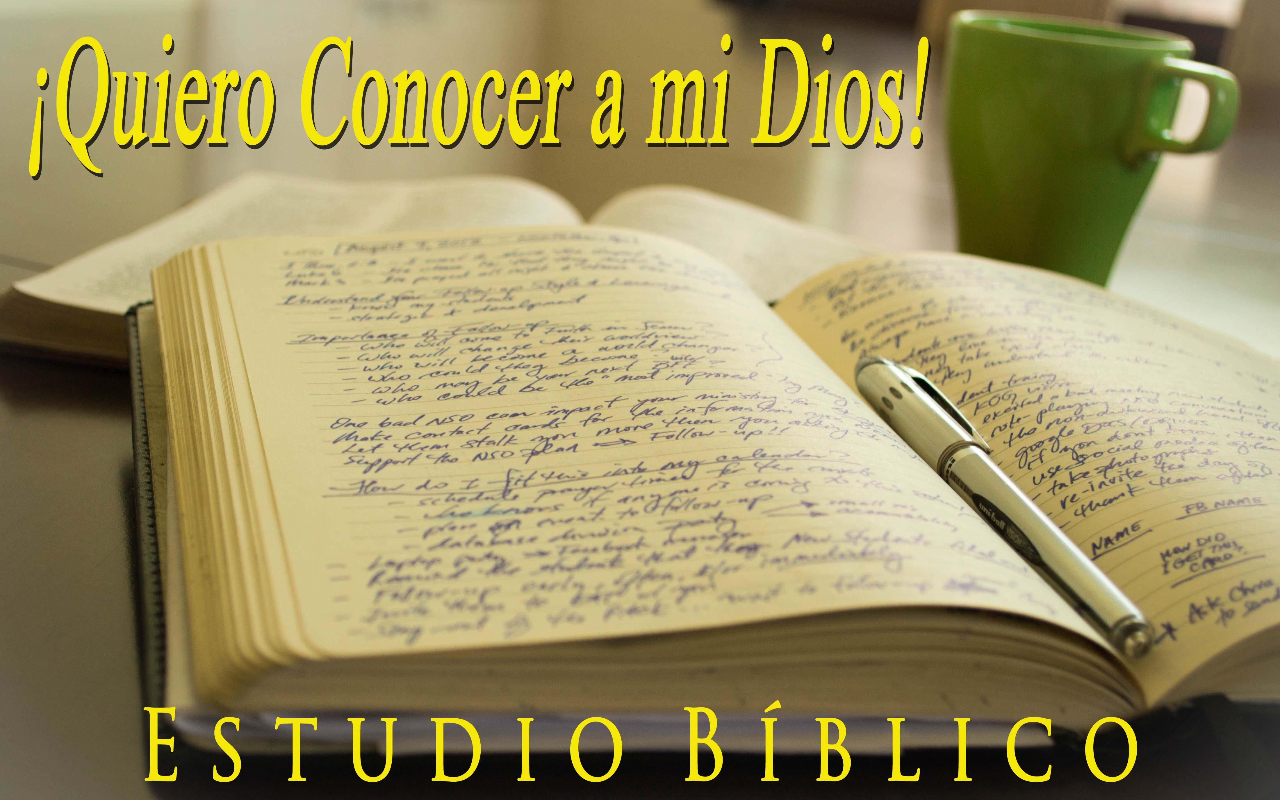 estudio biblico bautista: