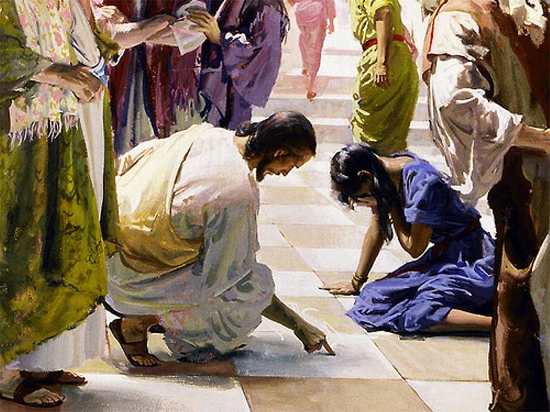 juan 8 woman in adultery
