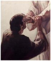 Jesús sana el ciego
