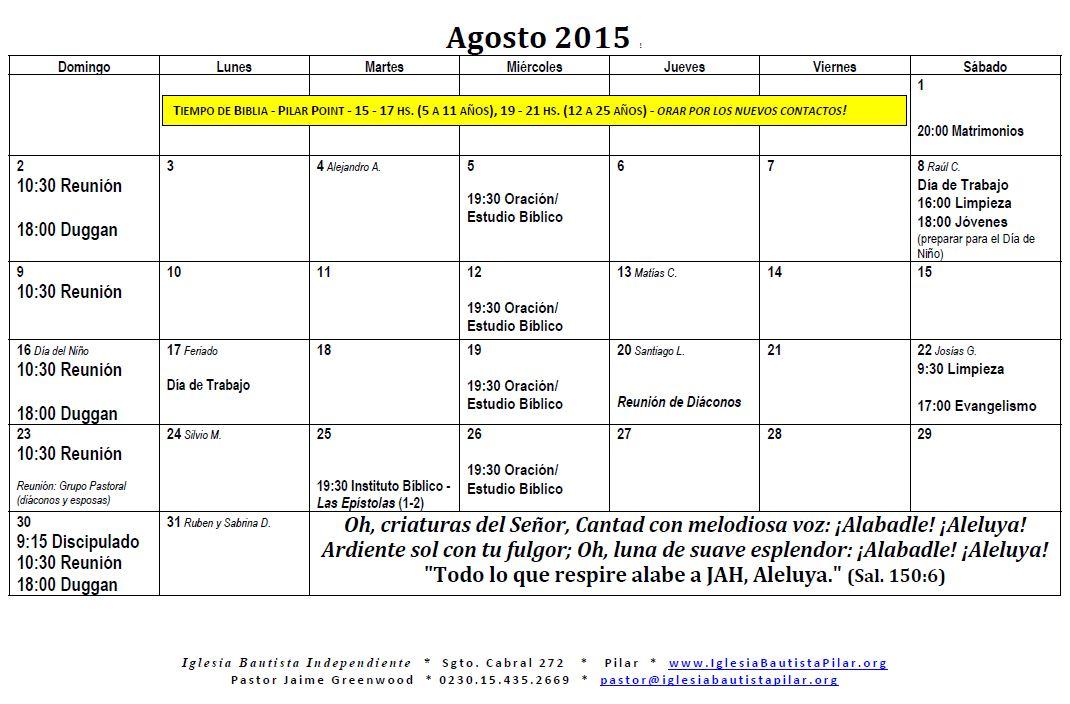 8.2015 agosto