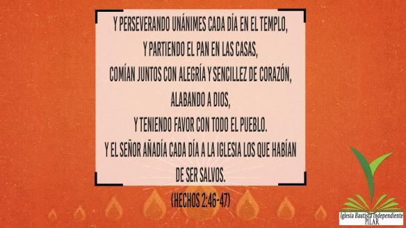 HECHOS 2.46-47